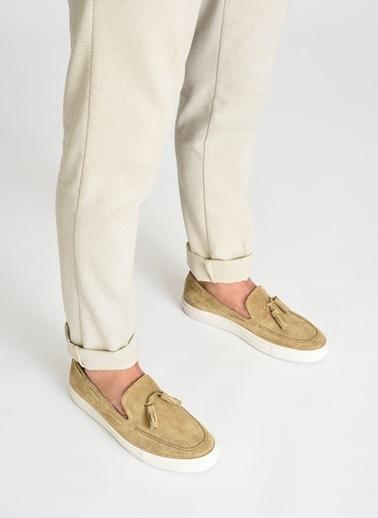 D by Divarese Deri Sneaker Camel